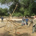 Potrero was a pioneering camp-out. We had fun building a catapult.