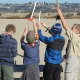 The Troop went to Fiesta Island to meet up Webelos who are considering joining our Troop. Members of DART rocketry helped launch our rockets safely. The weather cooperated – sunny and a very mild wind – and most rockets were recovered in good condition.