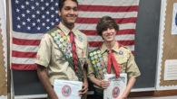 Troop, Please join me in congratulating Troop 682's newest Eagle Scouts Gokul and Kyle. They each had their Eagle Board of Review tonight and became the 36th and 37thScouts to earn the rank of Eagle in Troop 682. We are very proud of your hard work! Mr Dickson