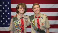 Troop, Please join me in congratulating Troop 682's newest Eagle Scouts, Justin DeFreitas and Lars Hartvig. They had their Boards of Review this evening. They have been Scouting together for the last 11 years so it is fitting that they became Eagles on the same day. Great job guys! Mr Dickson