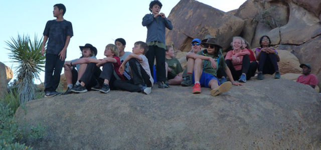 Our troop went to Joshua Tree national park to spend time in the desert with our fellow scout friends. We went hiking and bouldering.