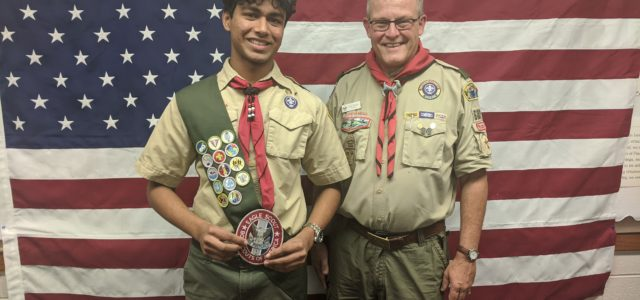 Troop, Please join me in congratulating Akhil Bokka, who had his Eagle Board of Review last night (12/19/2019) and is now officially 682's latest Eagle. For his Eagle project, Akhildirected a video for I Love a Clean San Diego. You can see it atLook Within Best, Mr Dickson